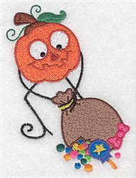 Pumpkinhead Loot embroidery design