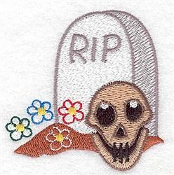 RIP embroidery design
