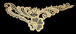 Lace Pattern embroidery design