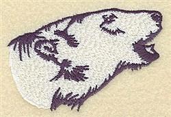 Polar Bear embroidery design