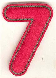 Puffy Felt 7 embroidery design