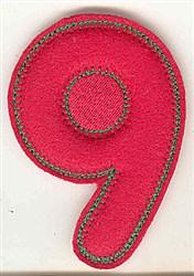9 embroidery design