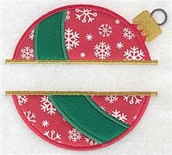 Split Applique Decoration embroidery design