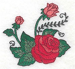 Lovely Roses embroidery design