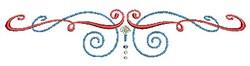 Scrollworks Swirl Border embroidery design