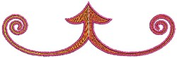 Border Scrollworks embroidery design