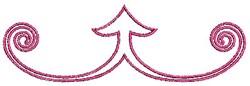 Scrollworks Outline Redwork embroidery design