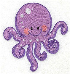 Octopus Friend embroidery design
