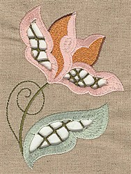 Floral Cutwork embroidery design