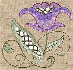 Springtime Cutwork embroidery design