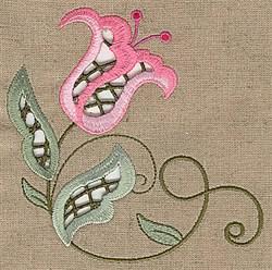 Cutwork Vine embroidery design