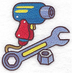 Racing Tools embroidery design