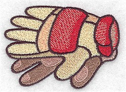 Racing Gloves embroidery design