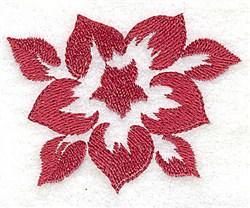 Stencil Flower embroidery design