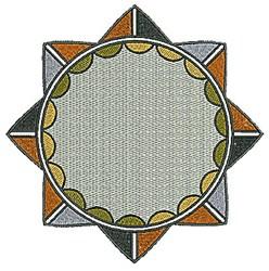 Southwestern Circle Design embroidery design