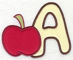 Letter Applique - A embroidery design