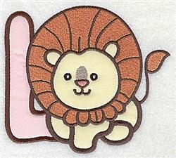 Letter Applique - L embroidery design