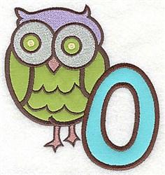 Letter Applique - O embroidery design