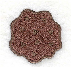 Chip Cookie embroidery design