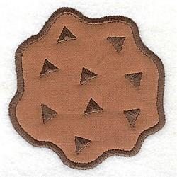 Cookie Applique embroidery design