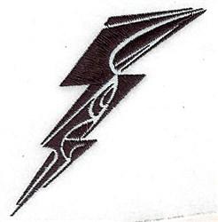 Tribal Lightning embroidery design