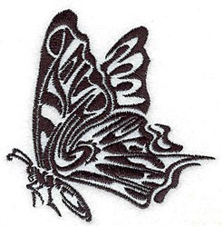 Tribal Butterfly embroidery design