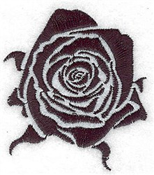 Tribal Rose embroidery design