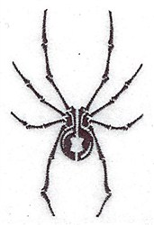 Tribal Spider embroidery design