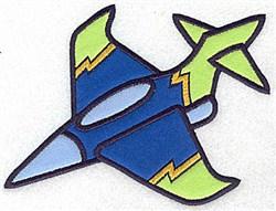 Military Jet Applique embroidery design