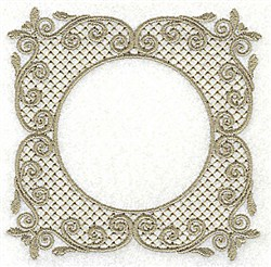 Victorian Lace embroidery design