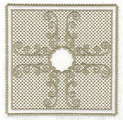 Victorial Lace embroidery design