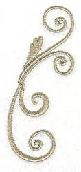 Victorian Swirls embroidery design