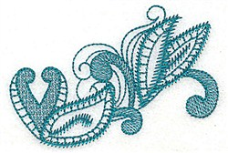 Leaf Decor embroidery design