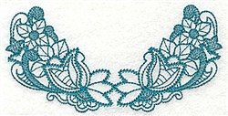 Floral Leaves embroidery design