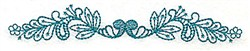 Leaf Border embroidery design