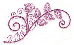 Whimsical Flower 2 embroidery design