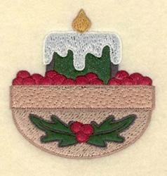 Medium Candle embroidery design