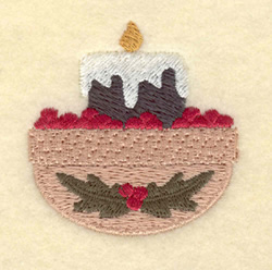 Small Candle embroidery design