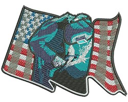 American Welder embroidery design