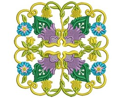 Jacobean Decoration embroidery design