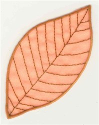 Beech Leaf embroidery design