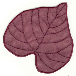 Basswood Leaf embroidery design