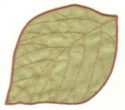 Elm Leaf embroidery design