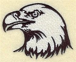 American Eagle Head embroidery design