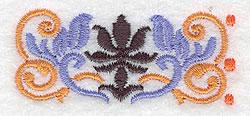 Mini Floral Border embroidery design