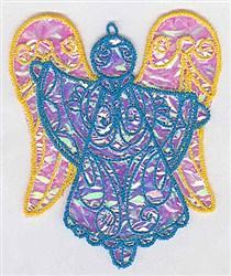 Fancy Applique Ornament embroidery design