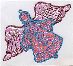 Angel Ornament Applique embroidery design