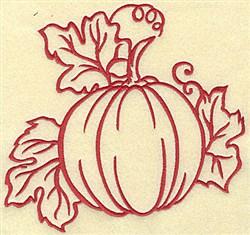 Fall Pumpkin embroidery design