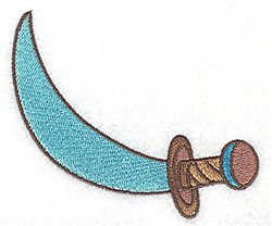 Pirate Cutlass embroidery design