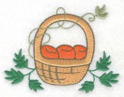 Fruit Basket embroidery design